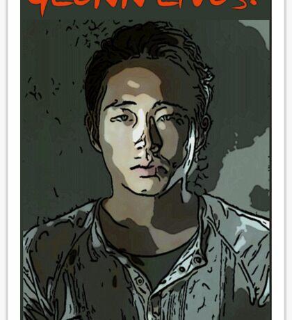 Glenn Lives! Sticker