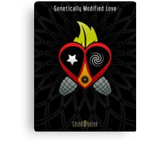 Genetically Modified Love Canvas Print