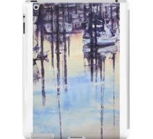 Tranquil evening in marina iPad Case/Skin