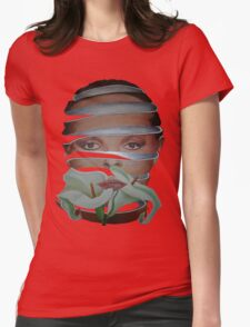 Surrealist Face, Spring and Flower T-Shirt