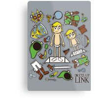 Dress up Link Metal Print