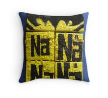 BATMANS BREAKFAST - BATMAN: 8 EGG'S NO11 Throw Pillow