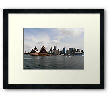 Stunning City of Sydney Skyline, Sydney, Australia. Framed Print