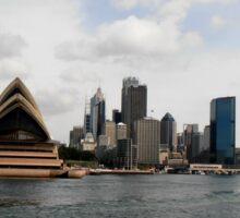 Stunning City of Sydney Skyline, Sydney, Australia. Sticker