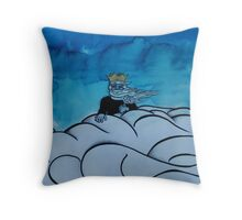 Miro, Princeps Lacrimae - King of the Clouds Throw Pillow