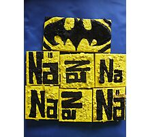BATMANS BREAKFAST - BATMAN: 8 EGG'S NO14 Photographic Print