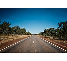 Australia - Endless Road Photographic Print