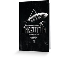 Pink Zeppelin Greeting Card