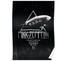 Pink Zeppelin Poster