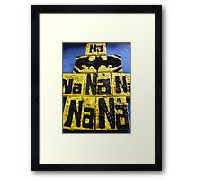 BATMANS BREAKFAST - BATMAN: 8 EGG'S NO17 Framed Print