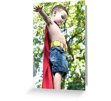 I am superman Greeting Card