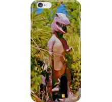 Mini Golf T-Rex iPhone Case/Skin