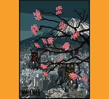 Robots and Cherry Blossom Unisex T-Shirt