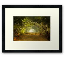 Come, walk with me!!! Framed Print