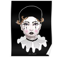 Pierrot - The Sad Clown Poster