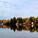 Brereton Lake Reflections by Larry Trupp