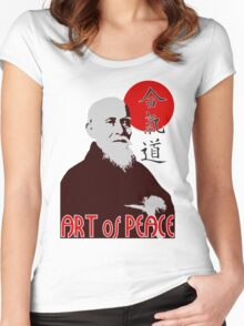 Art of Peace Women's Fitted Scoop T-Shirt