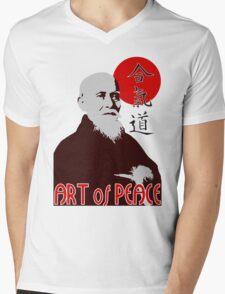 Art of Peace Mens V-Neck T-Shirt
