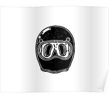 Cool helmet Poster