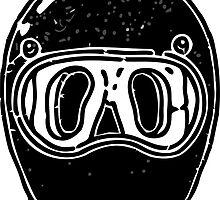 Cool helmet by silverorlead