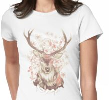 Stag of my Dreams Womens Fitted T-Shirt