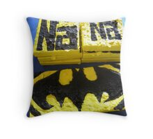 BATMANS BREAKFAST - BATMAN: 8 EGG'S NO42 Throw Pillow