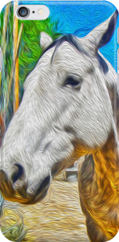 White Horse by Gregory Dyer