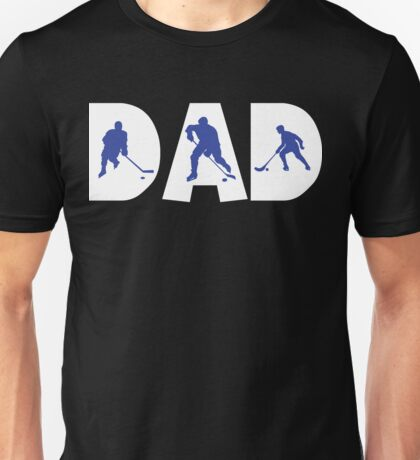 """Dad Father's Day """"Hockey Dad"""" T-Shirt"""