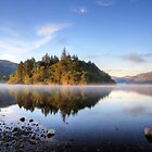 Misty morning on Derwentwater by AngiNelson