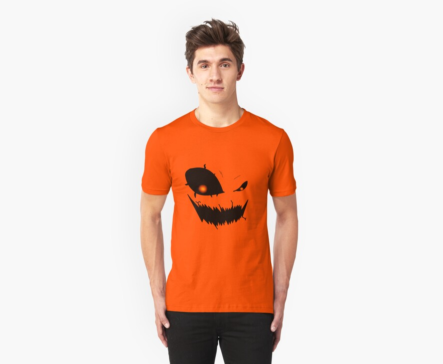 Scary Pumpkin Face Version 2 by ShadowDesigns