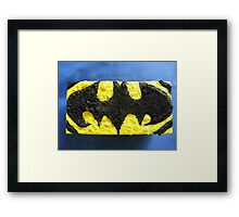 BATMANS BREAKFAST - BATMAN: 8 EGG'S NO53 Framed Print
