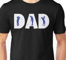 "Dad Father's Day ""Golf Golfing Dad"" Unisex T-Shirt"
