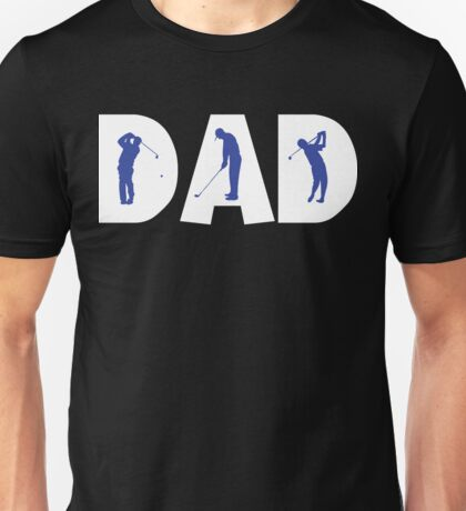 """Dad Father's Day """"Golf Golfing Dad"""" T-Shirt"""