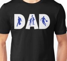 """Dad Father's Day """"Basketball Dad"""" Unisex T-Shirt"""