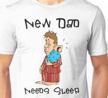 "New Father ""New Dad Needs Sleep"" Unisex T-Shirt"