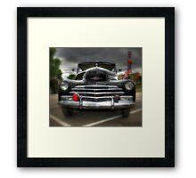 Chevy Stylemaster Framed Print