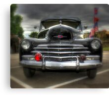 Chevy Stylemaster Canvas Print