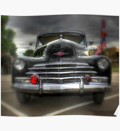 Chevy Stylemaster Poster