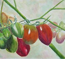 Tomato Bunches by Mark Sherman