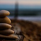 Pebbles on the beach by Will Corder | Photography