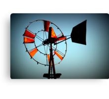 Rusty Windmill Canvas Print