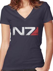 N7 Veteran Women's Fitted V-Neck T-Shirt