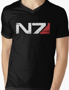 N7 Veteran Mens V-Neck T-Shirt