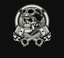 Awesome Biker skull Unisex T-Shirt