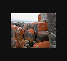 Rocks and Orange Lichen, Binalong Bay, Tasmania, Australia. Unisex T-Shirt