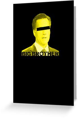 Mitt Romney big brother 2012 by Tia Knight