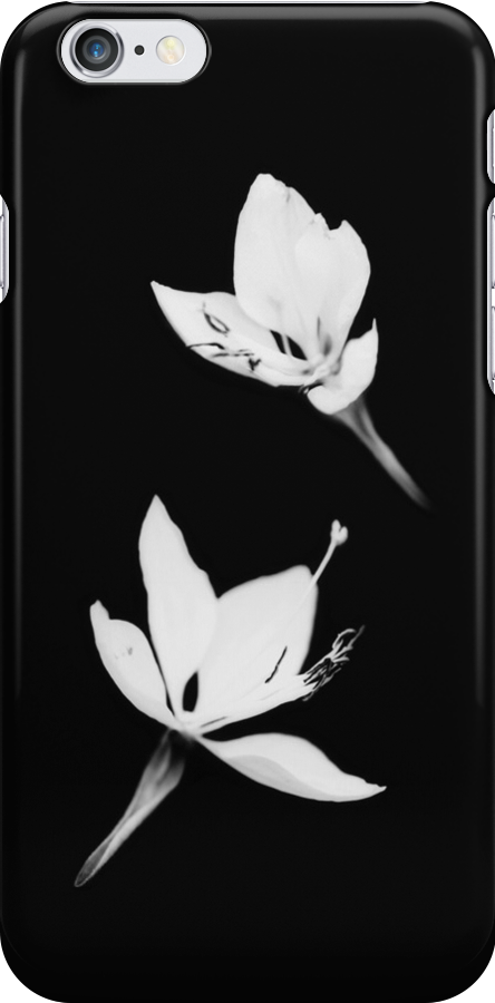 White Black [Print and iPhone / iPad / iPod Case] by Damienne Bingham