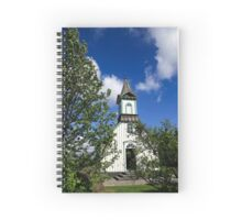 Church at Thingvellir historic site, Iceland Spiral Notebook