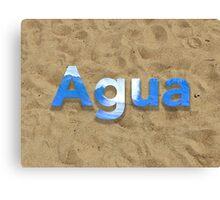 Agua Relax Canvas Print