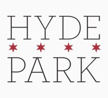 Hyde Park Neighborhood Tee by Chicago Tee